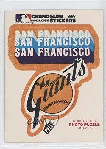 San Francisco Giants Team San Francisco Giants Team (Baseball Card) 1979 Fleer Grand Slam Hi-Gloss Team Stickers - [Base] #SFG.1