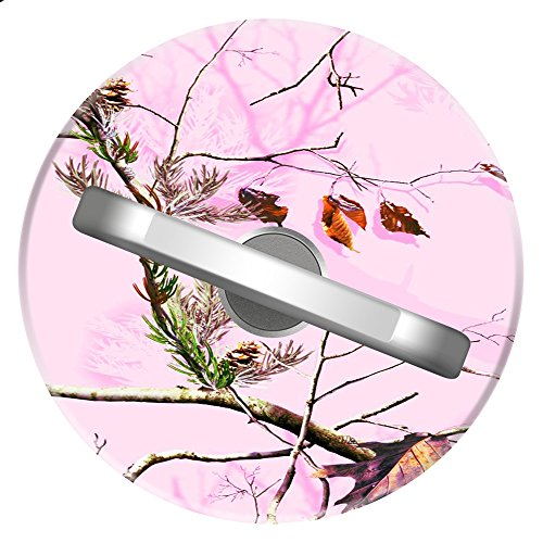 Pink Tree Camo Ring Stand, ZYCCW Customized 360 Rotating Stylish Stand and Grip Ideal For iPhone X/iPhone 8/iPhone 8 Plus.etc