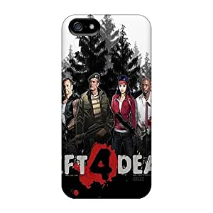 DanLuneau Apple Iphone 5/5s Durable Hard Cell-phone Cases Unique Design High-definition Left 4 The Dead Image [pgh856YYzX]