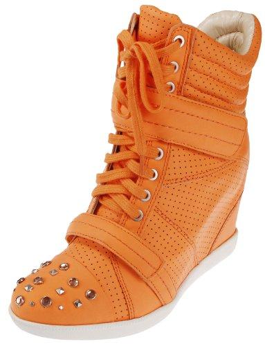 Boutique 9 Naranja Zapatilla De Deporte De La Moda De Las Mujeres Nevan Gran venta Barato 2018 h7t1ygY