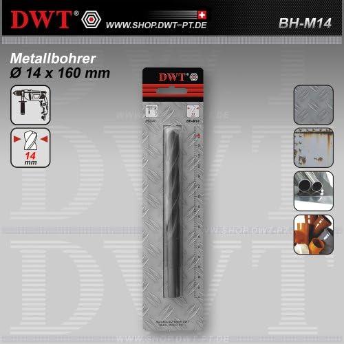 DWT Metallbohrer Ø 14 x 160 mm für Bohrmaschine - BH-M14