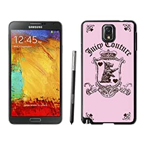 Lovely And Unique Designed Cover Case For Samsung Galaxy Note 3 N900A N900V N900P N900T With Juicy 01 Black Phone Case