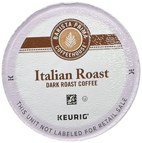 Barista Prima Coffeehouse Italian Roast , Single Serve Coffee K-Cups, 48-Count For Brewers by Barista Prima House (Image #1)'