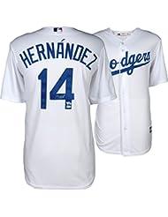 Enrique Hernandez Los Angeles Dodgers Autographed Majestic White Replica Jersey - Fanatics Authentic Certified