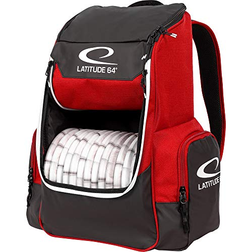 Latitude 64 Core Disc Golf Backpack – Red