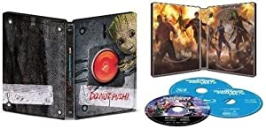Guardians of the Galaxy Vol. 2 SteelBook (4K Ultra HD Blu-ray, Blu-ray, Blu-ray 3D)