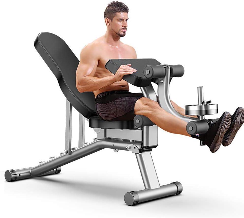 YJD Panca per Esercizi di Fitness Panca per Addominali e Pesi Esercizi di Panca