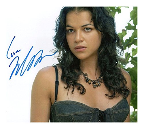 (Photo Michelle Rodriguez Signed Autographed 8 x 10)