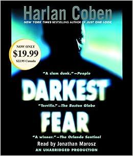 Amazon Fr Darkest Fear Harlan Coben Jonathan Marosz