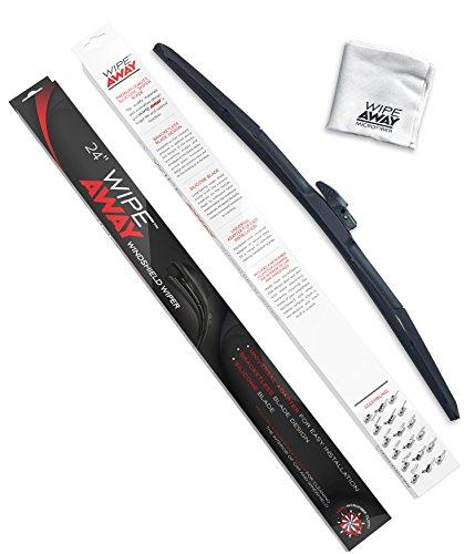 Wipe Away AD-519C-24 Silicone Windshield Wiper Blade - Genesis Arm Guard