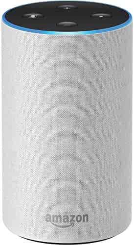 Echo (2nd Generation) - Smart speaker with Alexa and Dolby processing  - Sandstone Fabric