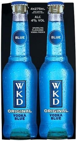Wkd Original Vodka Blue 24 X 275ml Amazon Co Uk Grocery Wkd original vodka blue is a blended vodka flavored with mixed fruits. wkd original vodka blue 24 x 275ml