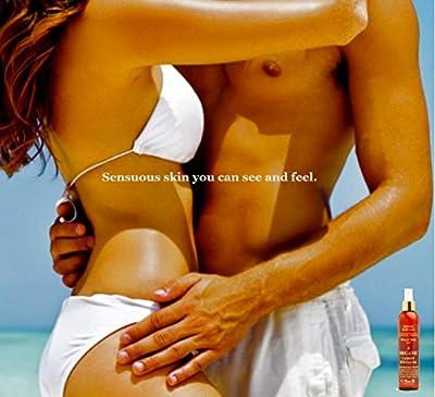 Bronzo Sensualé SPF 4 Sunscreen Deep Tanning Carrot Oil 8.5 Ounces