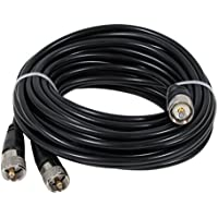 Taurus 18ftcophase Co-Phase Coax Cable Pl-259 To 2 X Pl-259, Connects 2 Antennas