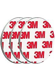 ECENCE Rookmelder magneethouder stuks zelfklevende magneethouder voor rookmelder Ø 50 mm snelle & veilige montage zonder te boren of schroeven, voor alle brand- en rookmelders