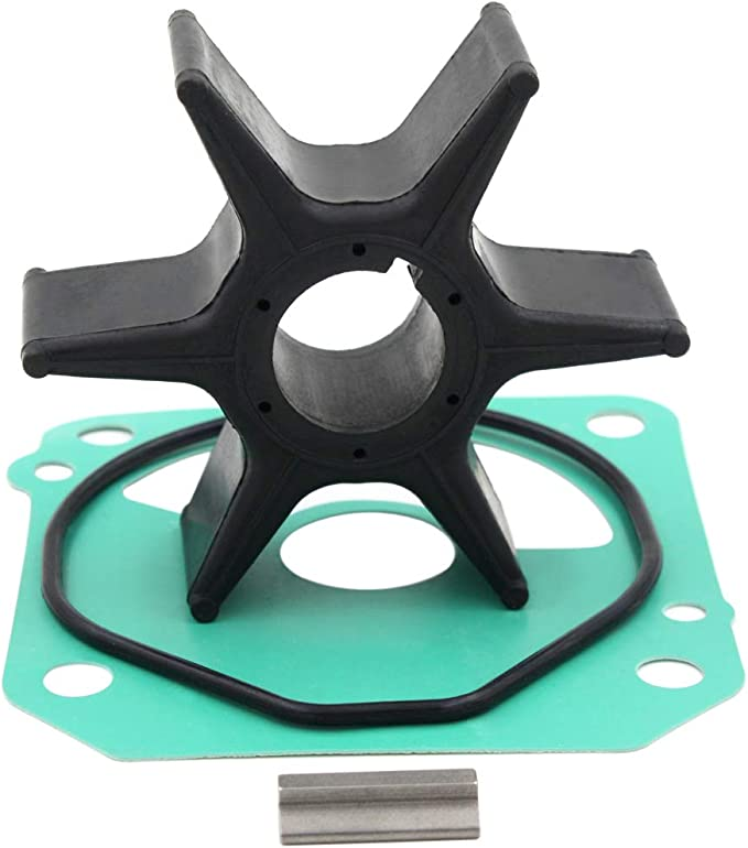 UANOFCN Suzuki Impeller Kit Replacement 4HP 6HP DF4 DF6 Outboard Motor Water Pump Impeller Sierra 18-3266 17400-98661 17400-986L0