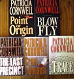 Patricia Cornwell Collection (Set of Five Books) Cruel and Unusual,Point of Origin,The Last Precinct, Blow Fly, Trace (