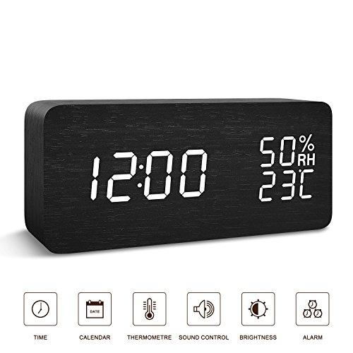 BlaCOG Alarm Clock Digital