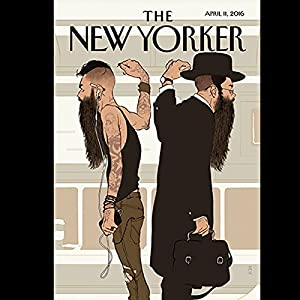 The New Yorker, April 11th 2016 (Rachel Aviv, Calvin Tomkins, Charles McGrath) Periodical