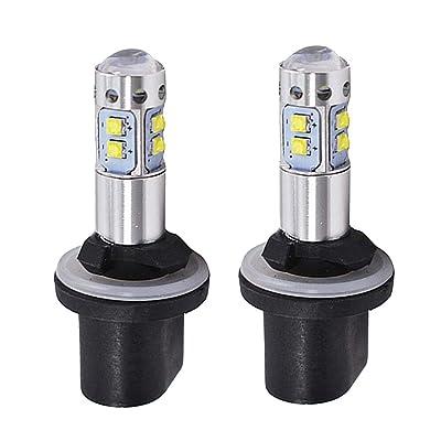 1 Paire 880 Faible consommation d'énergie Voiture Brouillard Avant pour véhicules de Conduite lumière LED phares 50W 6000K Super White High-tech