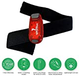 ReflecToes LED Safety Lights for Runners Clip