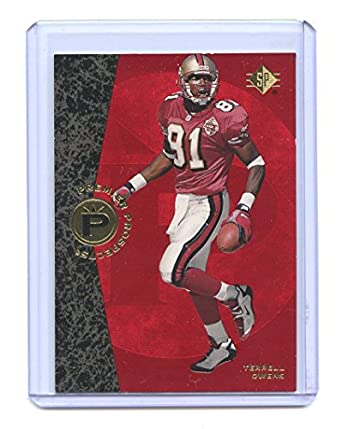 425d37b2b77 1996 SP  7 Terrell Owens San Francisco 49ers Rookie Card - Mint Condition  Ships in