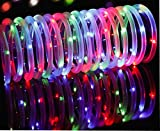 Lamker Led Solar Rope Lights Waterproof Indoor Outdoor Tube String Light Copper Wire 41ft 100 Leds Decorative Lighting for Tree Garden Yard Fence Patio Decking Christmas Multi-coloure