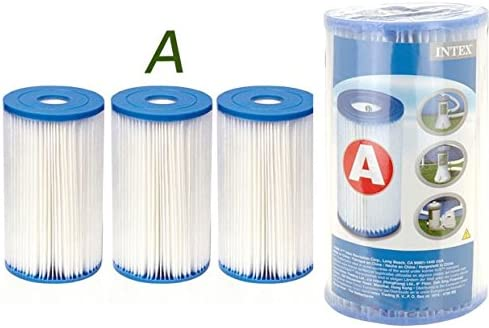 Intex TYPE H 4 Cartouches de Filtration Intex pour filtre piscine