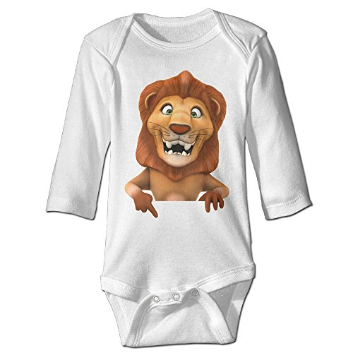 Raymond Lion Long Sleeve Jumpsuit Outfits White 12 Months