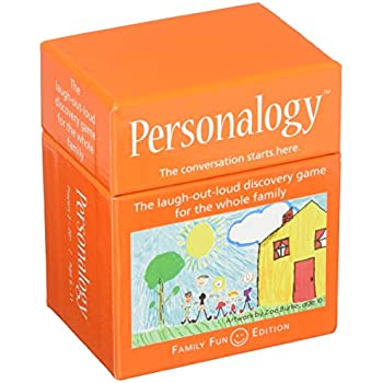 Continuum Games Personalogy Family Game, Multicolor