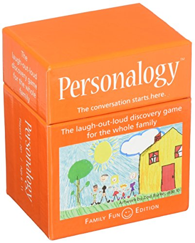 Continuum Games Personalogy Family Game, Thinking Game