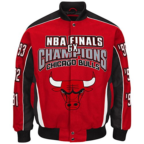 G-III NBA Championship Cotton Twill Commemorative Jacket (Twill Championship Jacket)