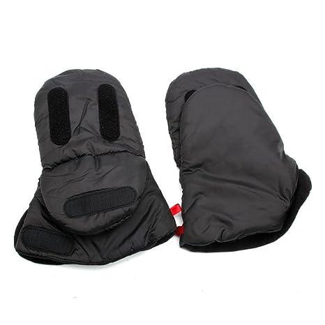 1 par de guantes para llevar el carrito del bebé, ideales para invierno