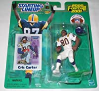 2000 Cris Carter Extended Series NFL Starting Lineup