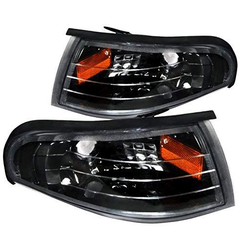 Spec-D Tuning 2LC-MST95JM-RS Ford Mustang Gt/Base Corner Lights Black (Ford Corner Mustang 95)