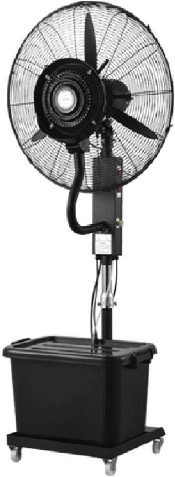 電気床の永続的な冷却ファンの産業霧の自動追加水の振動の傾斜の頭部の調節可能な高さの携帯用商業静かなDCモーター260ワット