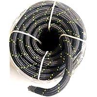 ASD Static Cord Climbing Rope 12 Mm Black 50mtr