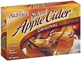 Alpine Spiced Cider Apple Flavor Drink Mix - 7.4 oz - 10 ct - 12 pk