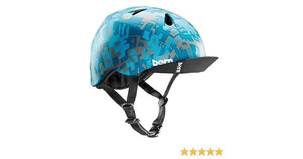 Nino Kids Sport Bike Helmet with Visor Bern Unlimited VJBBCVS Bern Summer Childrens Helmet Jr