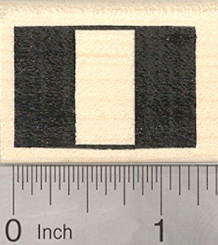 Flag of Peru Rubber Stamp, Nigeria