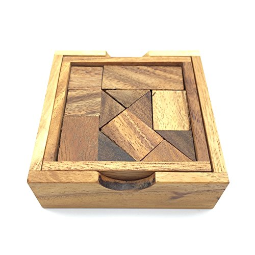 BRAIN GAMES Surprise Box Wooden Puzzle (Twenty Little Amish Quilts compare prices)