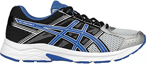 ASICS Men's Gel-Contend 4 Running Shoe, Silver/Classic Blue/Black, 11 M US from ASICS