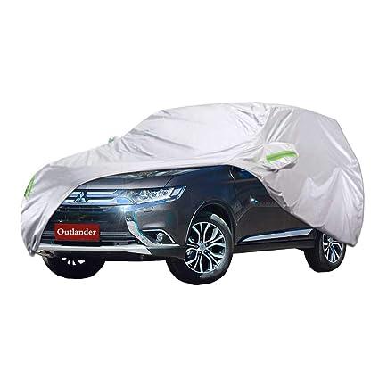 Cubierta de coche Cubierta del coche SUV Mitsubishi Outlander Cubierta del coche grueso Oxford Tela Protección