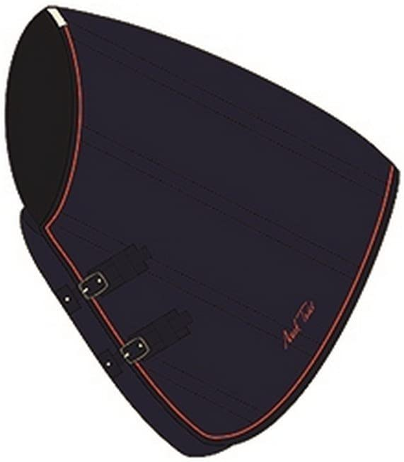 Medium Mark Todd Unisexs Stable Rug weight Neck Cover Navy//orange