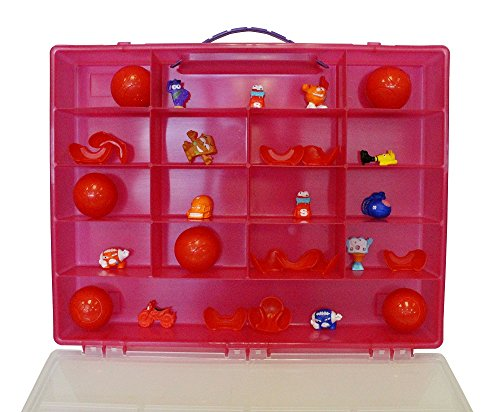 Fun for lifeOrganizer for Smashers Smash Ball Football Theme, Sports Collectables Toy. Figures Are Not Included. Strawberry Pink