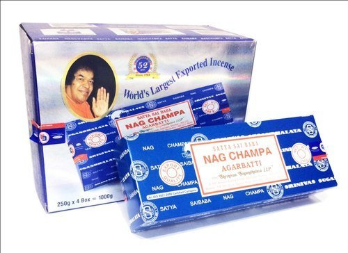 Mega Value Bundle Sai Baba Nag Champa Incense (4-Pack (1,000g)) - incensecentral.us