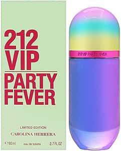 Carolina Herrera 212 Vip Party Fever for Women Eau de Toilette 80ml