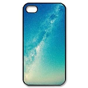 IPhone 4/4s Case Amazing Shiny Space Protective Cute for Girls, Case for Iphone 4 Protective Cute for Girls [Black]