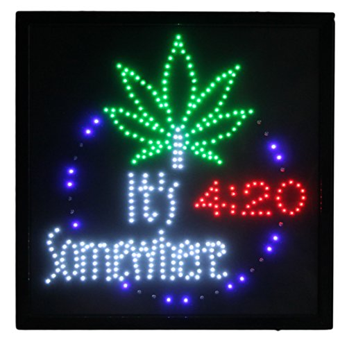 Marijuana It's 4:20 Somewhere Large 19