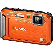 Panasonic Lumix TS20 16.1 MP TOUGH Waterproof Digital Camera with 4x Optical Zoom (Orange) (OLD MODEL)
